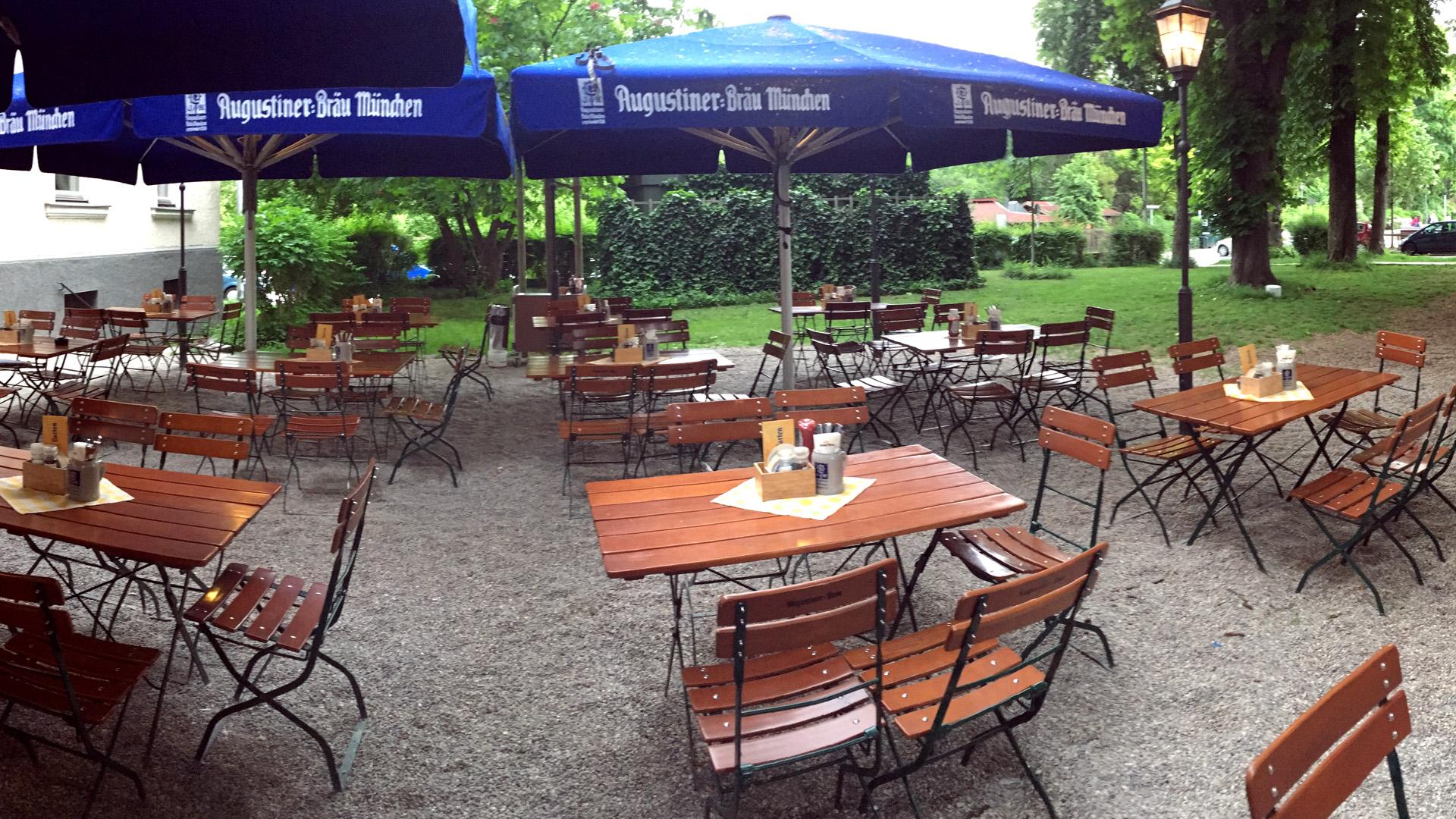 Biergarten Giesinger Garten Munchen